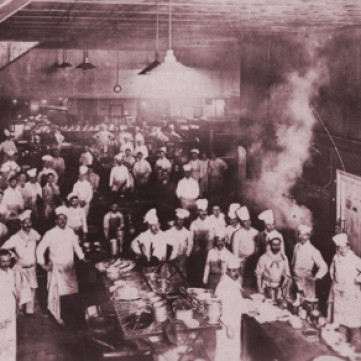The Kitchen at The Regent Palace Hotel in Piccadilly