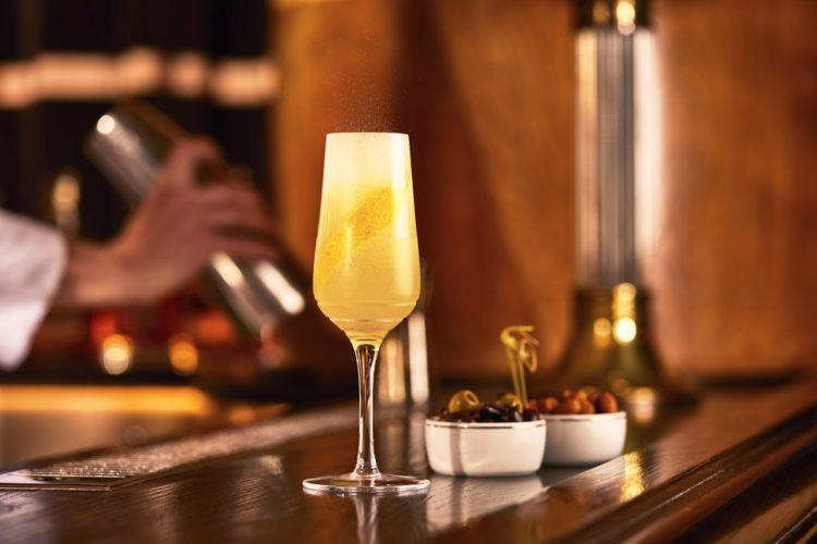 Bar Americian S'Wonderful Fizz cocktail