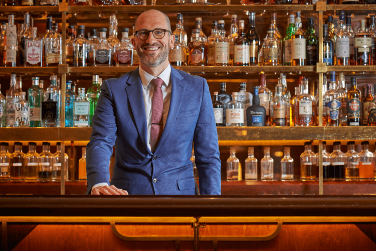 Sean Kelly, Bars Manager at Bar Américain within Brasserie Zédel